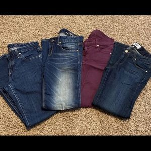 Reseller Lot of Designer and Fashion Brand Jeans